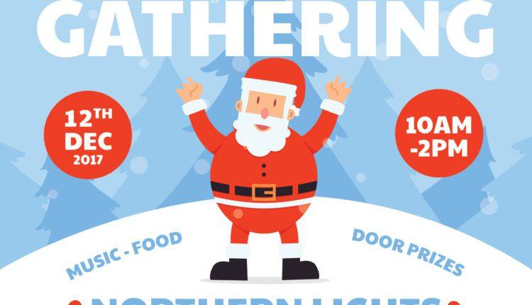 Elders Christmas Party Flyer