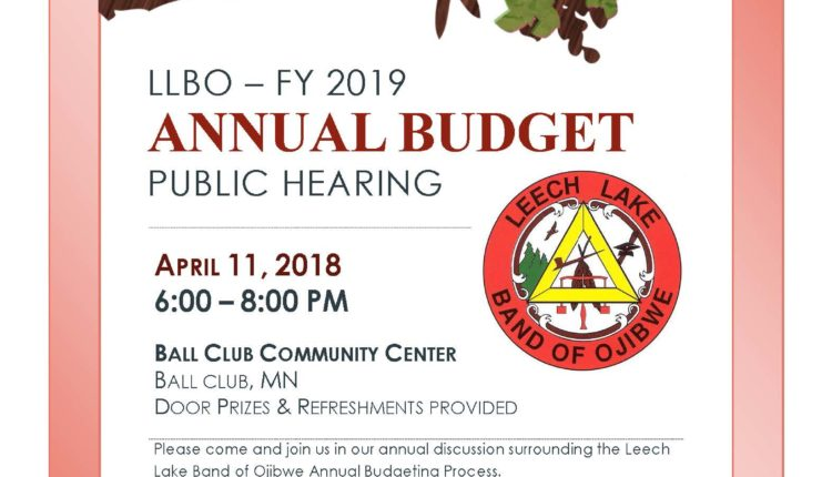 FY 2019 Budget Hearing District I (002)