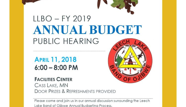 FY 2019 Budget Hearing District III