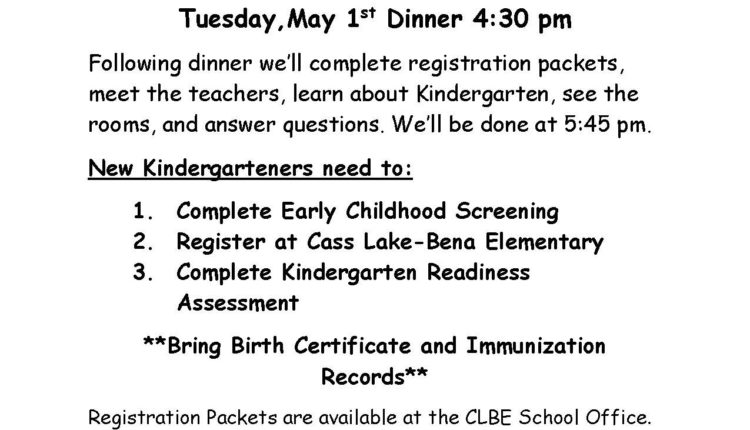 Kindergarten Registration 18