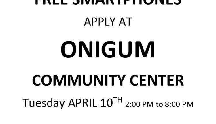 Leech Lake District 3 Onigum Apr Flyer 2018