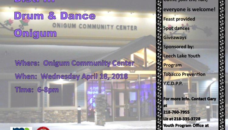 Onigum Drum and Dance 2018