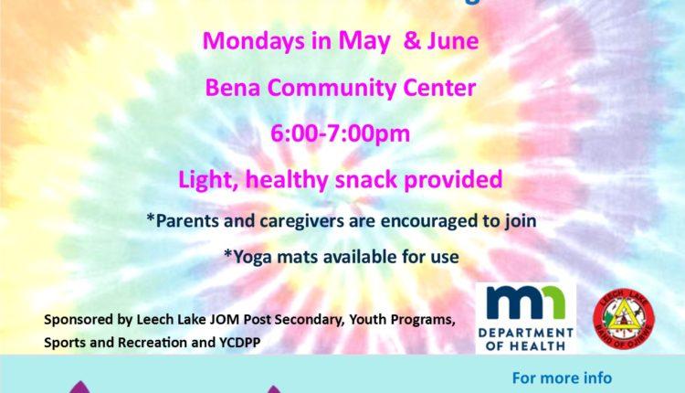 mondays in may June yoga