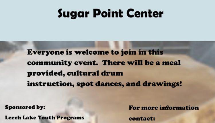 Drum and Dance flyer 5-16-18 Sugar Point