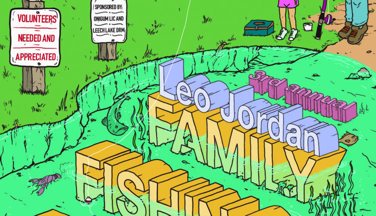 fishing flyer LJ 2018