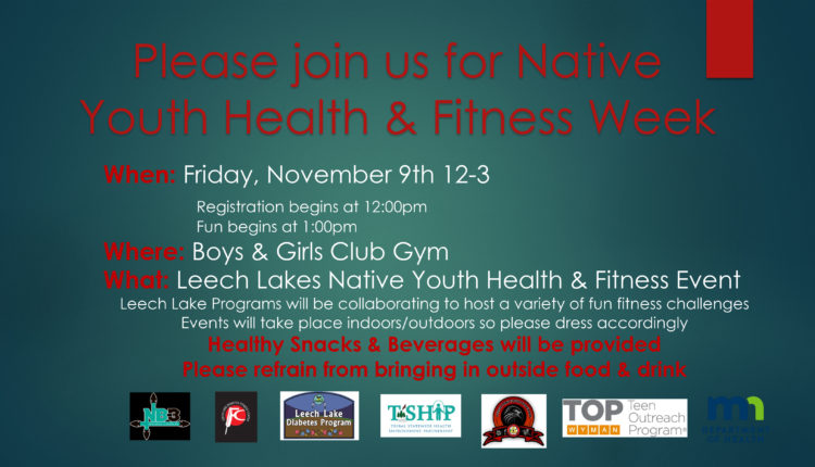 Native youth health and fitness